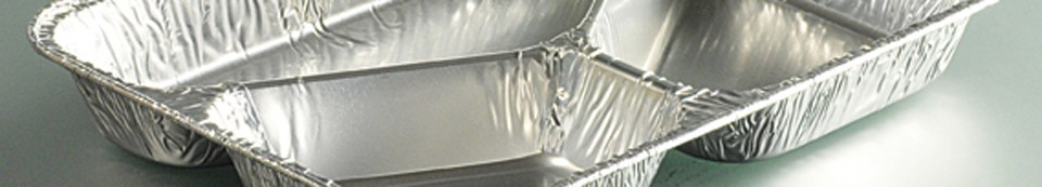 Barquettes en aluminium
