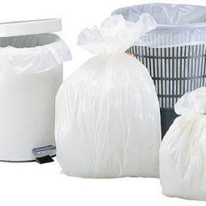 Sacs poubelle 5 litres blanc