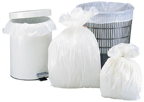 Sacs poubelle 30 litres blanc