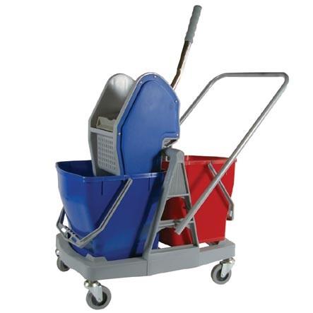 Chariot de lavage 2 seaux Compact 30