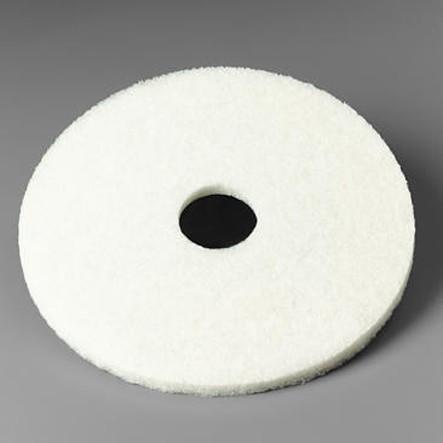 Disque blanc 3M lustrage