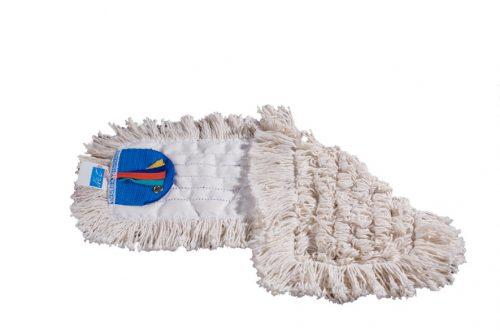 Frange de lavage 40 cm coton avec languettes et oeillets