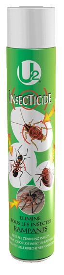 Insecticide rampants U2 en aérosol 750 ml