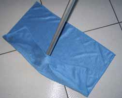 Serpillière microfibre Quadri-sols 40x80 cm