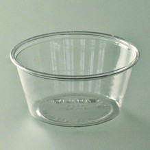 Pot à sauce cristal transparent