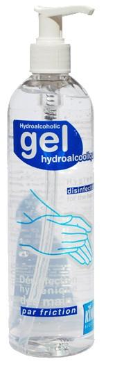 Désinfectant gel hydroalcoolique King flacon pompe 400 ml