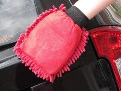 Gant de lavage microfibres Rasta