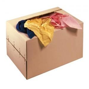 Chiffons couleur carton de 10 kg