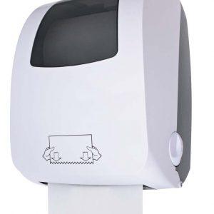 Distributeur auto cut manuel essuie-mains rouleaux Cleantech