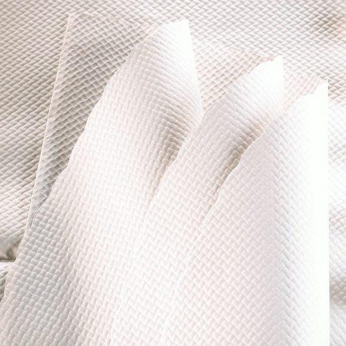 Nappe format en papier blanc