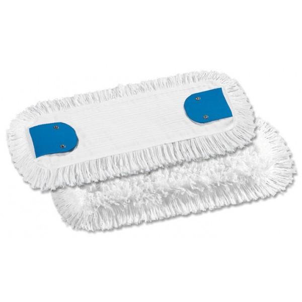 Frange de lavage 50 cm coton avec languettes