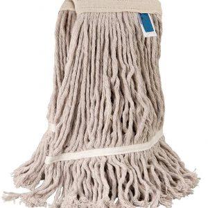 Frange faubert coton 400g avec bande