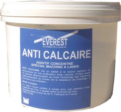 Anti calcaire pour lave linge