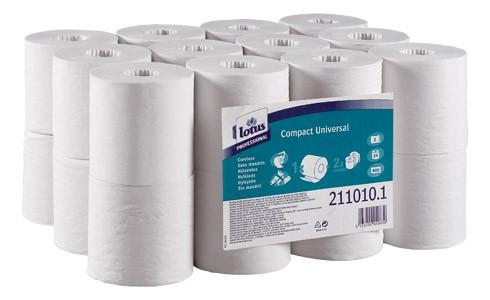 Papier hygiénique Lotus compact universal