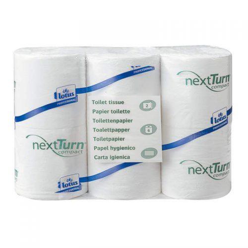 Papier hygiénique Lotus compact NextTurn