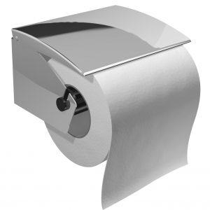Distributeur inox pour papier hygiénique standard