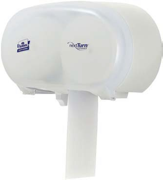 Distributeur inox papier toilette NextTurn compact