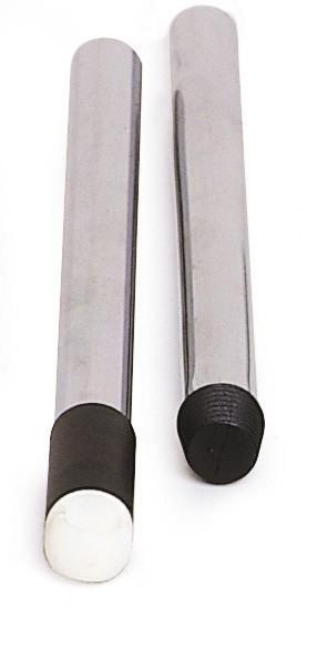 Manche aluminium Ø 22 avec embout vis + attache