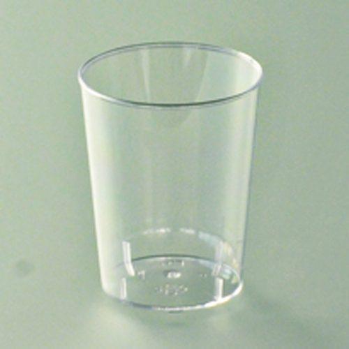 Verre de dégustation plastique cristal