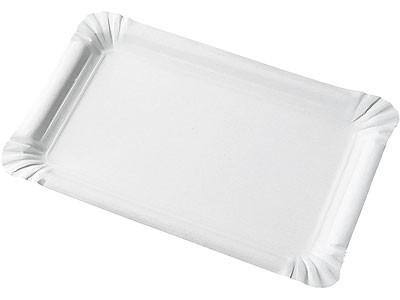 Assiette rectangulaire en carton
