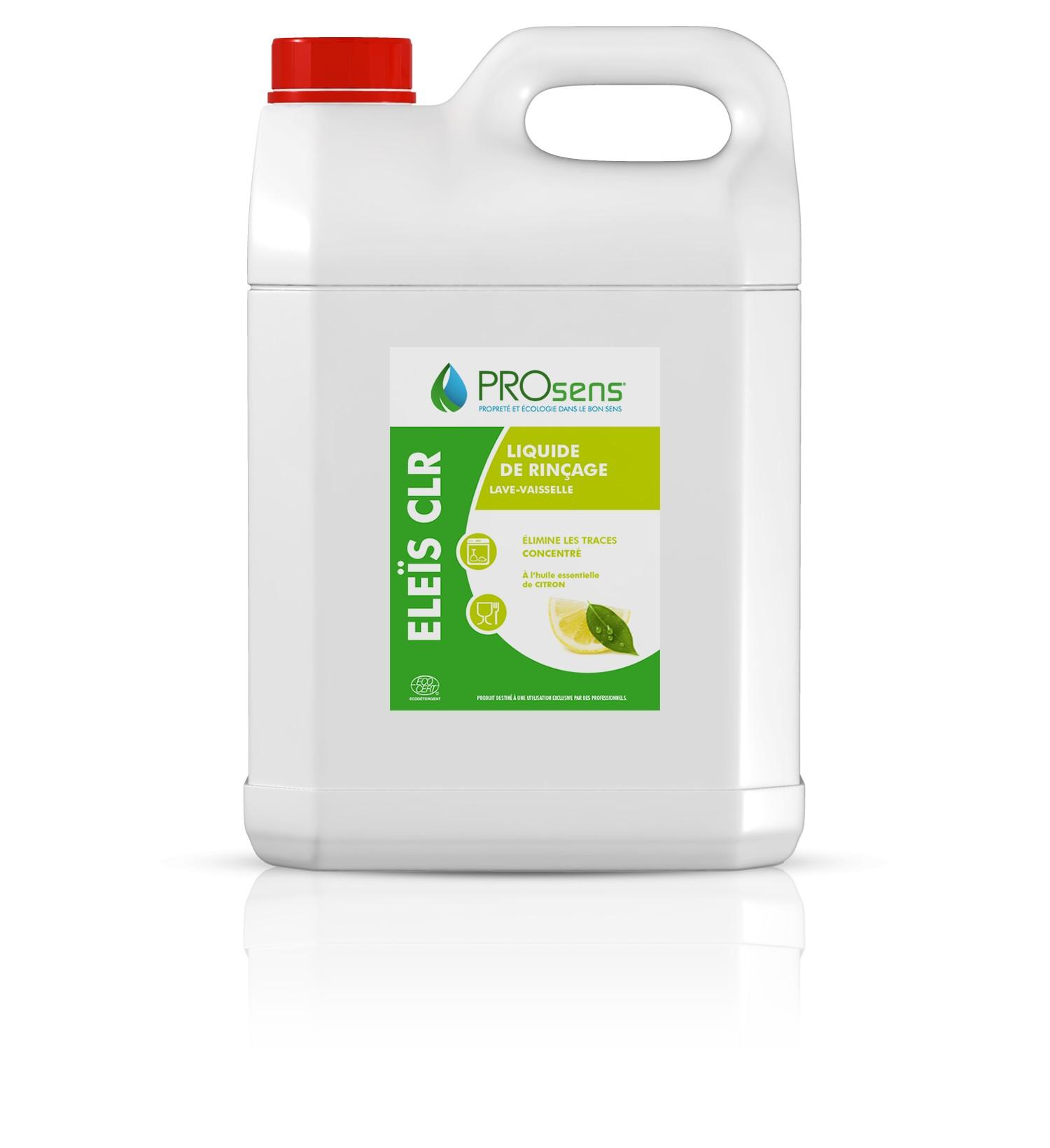 liquide de rinçage écologique pour lave vaisselle eleïs clr - sodisgro