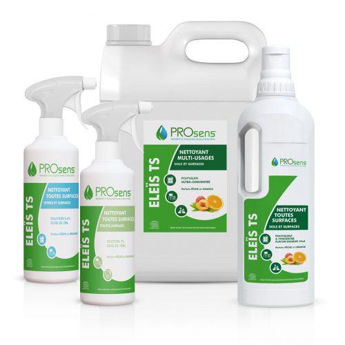 Eleïs TS nettoyant multi-usages écologique