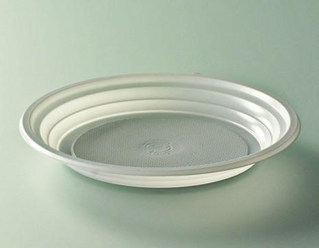 Assiette plastique blanc diamètre 170 mm