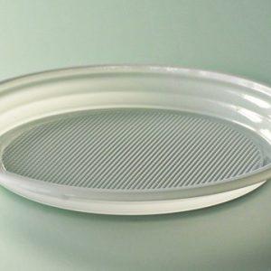 Assiette plastique blanc diamètre 205 mm