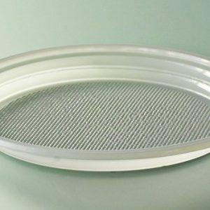 Assiette plastique blanc diamètre 220 mm