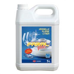 01004-5 Liquide vaisselle Faral plus 5 L